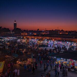 Maroko i jego atrakcje: Marrakesz